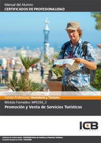 Promoción y venta de servicios turísticos (Paperback)