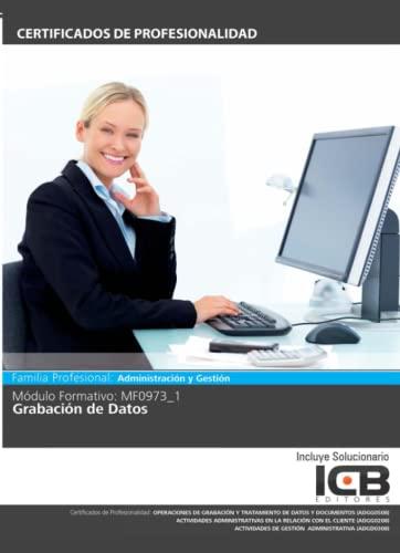 9788490213650: Grabación de datos. Certificados de profesionalidad. Actividades administrativas en relación con el cliente