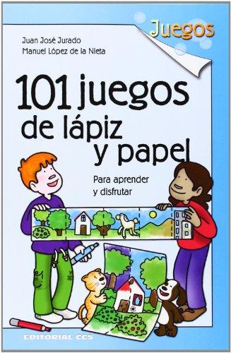 101 Juegos De Lapiz Y Papel Para Aprender Y Disfrutar De Manuel