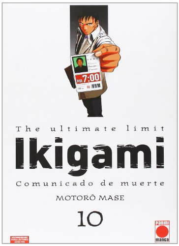 9788490242056: The Ultimate Limit Ikigami 10. Comunicado De Muerte