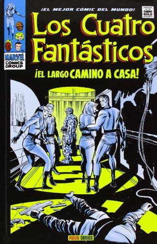 9788490244289: Los 4 Fantasticos. El Largo Camino A Casa (Gold Omnibus 4 Fantasticos)