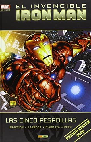 9788490244302: El Invencible Iron Man. Las Cinco Pesadillas - Número 1 (Marvel Deluxe)