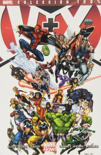9788490244487: V+X. Los Vengadores + La Patrulla X (100% Marvel - V+x)