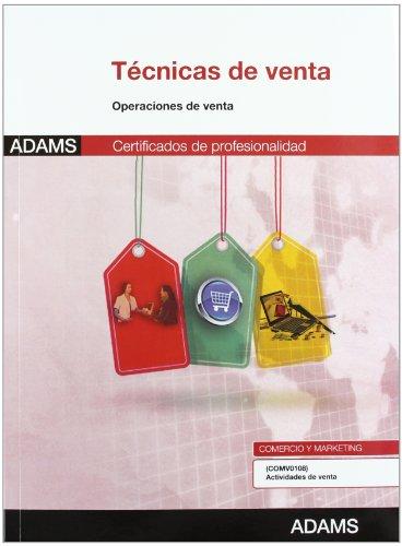 9788490250488: Técnicas de venta: certificado de profesionalidad actividades de venta