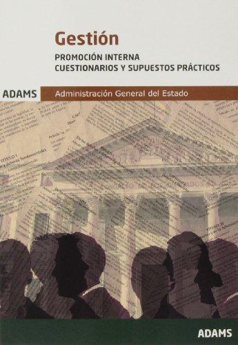9788490253793: Cuestionarios y Supuestos Prácticos Gestión de la Administración del Estado, promoción interna