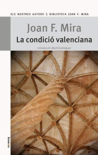 9788490260340: La condició valenciana