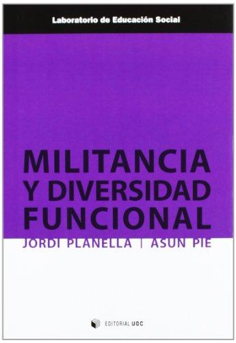 9788490290057: Militancia y diversidad funcional.