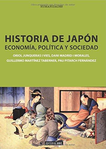 9788490290293: Historia de Japón: Economía, política y sociedad (Manuales)