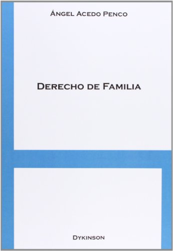 9788490313589: Derecho de familia