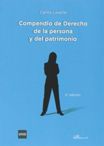 9788490314272: Compendio de derecho de la persona y del patrimonio (3ª ed. - 2013)
