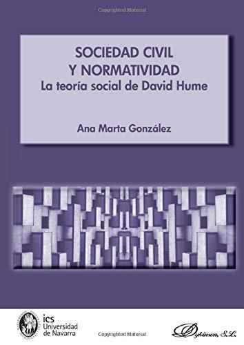 9788490316085: Sociedad civil y normatividad.La teoría social de David Hume