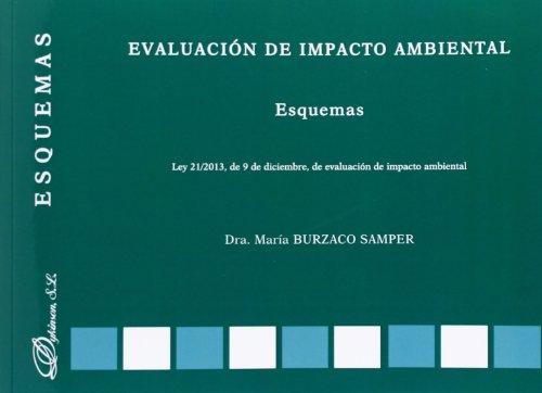 9788490317976: Evaluación de impacto ambiental. Esquemas (Esquemas (dykinson))