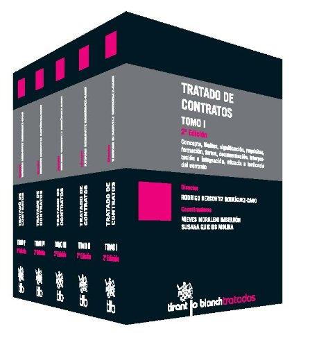 9788490331330: Tratado de Contratos 5 Tomos (Tratados, Comentarios y Practicas Procesales)