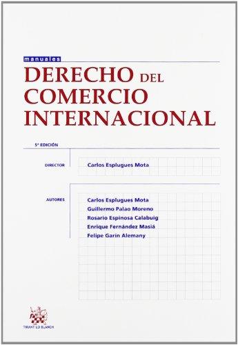 9788490332085: (5ª Ed.) Derecho Del Comercio Internacional (Manuales Derecho)