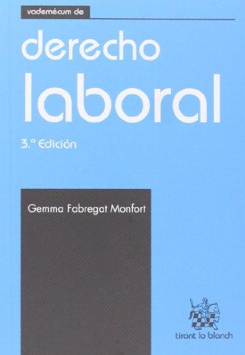 9788490332412: Vademécum de Derecho laboral 3ªEd. 2013