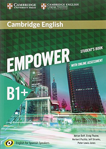 9788490361740: Cambridge English Empower for Spanish Speakers B1+ Student's Book with Online Assessment and Practice