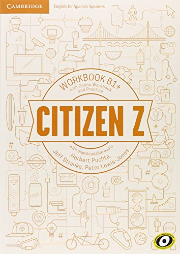 9788490362990: Citizen Z B1+ Workbook with Online Workbook and Practice, with Downloadable Audio