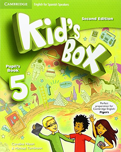 9788490364369: Kid's Box for Spanish Speakers Level 5 Pupil's Book Second Edition - 9788490364369