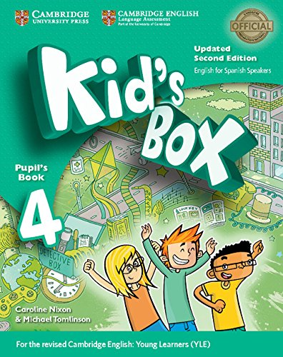 9788490365366: Kid's Box Level 4 Pupil's Book Updated English for Spanish Speakers Second Edition - 9788490365366