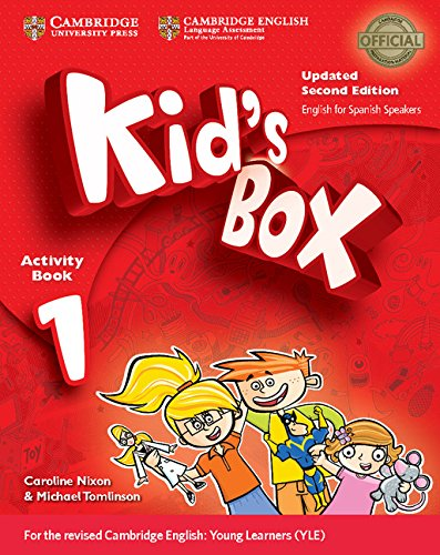 9788490366080: Kid's Box Level 1 Activity Book with CD-ROM Updated English for Spanish Speakers Second Edition - 9788490366080
