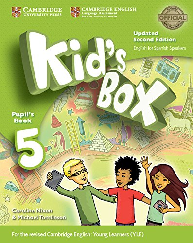 9788490366554: Kid's Box Level 5 Pupil's Book Updated English for Spanish Speakers Second Edition - 9788490366554