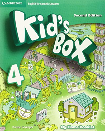 9788490367520: Kid's Box for Spanish Speakers Level 4 Activity Book with CD ROM and My Home Booklet Second Edition - 9788490367520