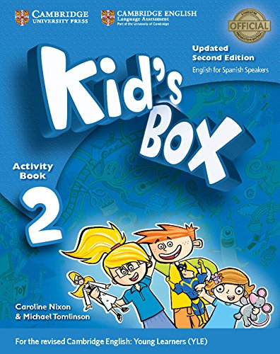 9788490368978: Kid's Box Level 2 Activity Book with CD-ROM Updated English for Spanish Speakers Second Edition - 9788490368978