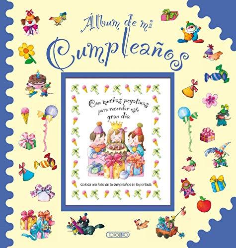 9788490371008: Álbum de mi cumpleaños