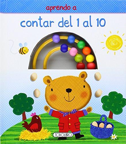 9788490371299: Aprendo a contar del 1 al 10