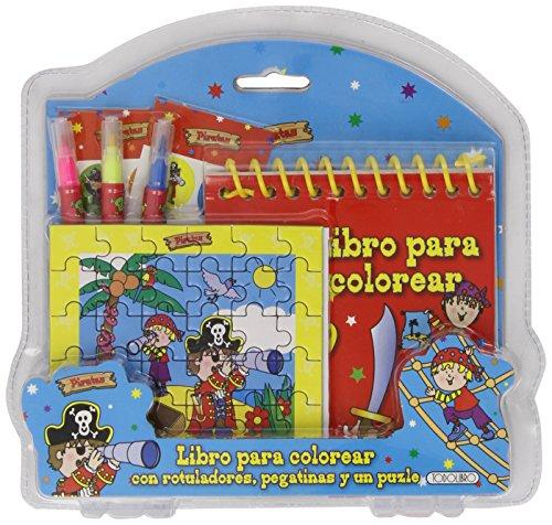 9788490372074: Piratas. Colores Y Mas