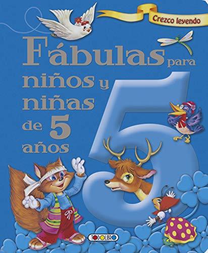 9788490377628: Fábulas para niños y niñas de 5 años (Crezco leyendo)