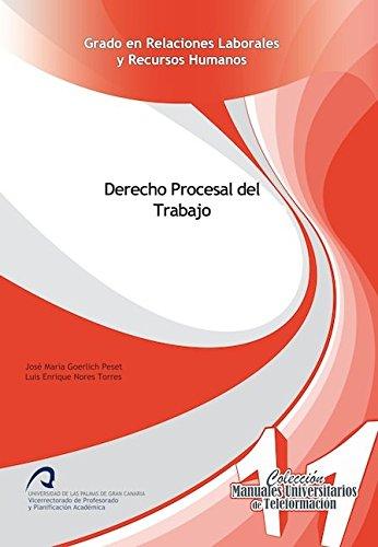 9788490420287: Derecho Procesal del Trabajo (Manuales Universitarios de Teleformación)
