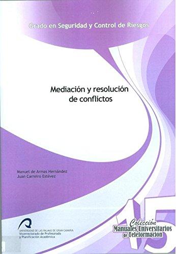9788490420300: Mediacion Y Resolucion De Conflictos
