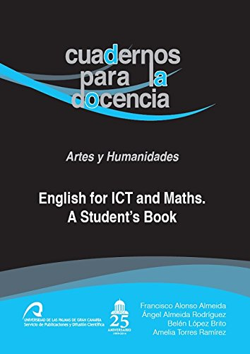 9788490421390: ENGLISH FOR ICT AND MATHS. A STUDENT'S BOOK