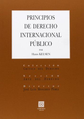 9788490450550: Principios De Derecho Internacional Público (Critica Derecho)