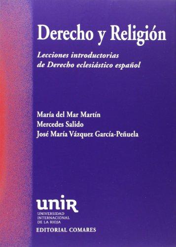 9788490451366: Derecho y religión