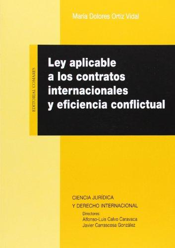 Ley aplicable a los contratos internacionales y: Maria Dolores Ortiz