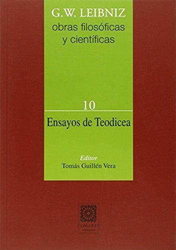 9788490452646: Ensayos de teodicea (Rústica) (Ensayo De Teodicea)