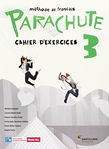 9788490490174: PARACHUTE 3 PACK CAHIER D'EXERCICES