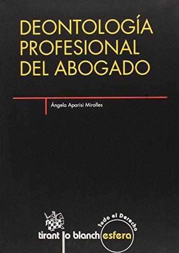 9788490531259: Deontología profesional del abogado (Esfera)