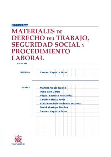 9788490531570: Materiales de Derecho del Trabajo, Seguridad Social y Procedimiento Laborral 2ª Ed. 2013 (Manuales de derecho del trabajo y seguridad social)