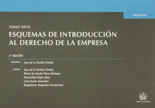 9788490533659: Tomo XXVII Esquemas de Introducción al derecho de la empresa 3ª Ed. 2013