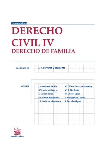 9788490534243: Derecho Civil IV Derecho de familia (Manuales de Derecho Civil y Mercantil)