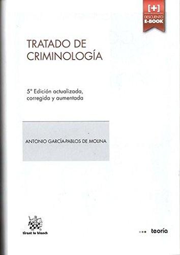 9788490537787: Tratado de Criminología 2014
