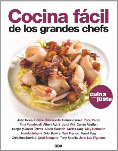 9788490562598: Cocina Fácil De Los Grandes Chefs (GASTRONOMÍA Y COCINA)