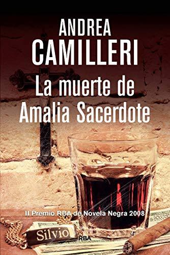 La muerte de Amalia Sacerdote: CAMILLERI,ANDREA