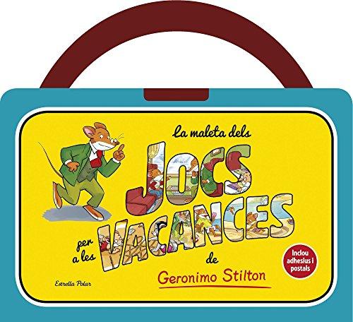 9788490572047: La maleta de jocs per a les vacances de Geronimo Stilton