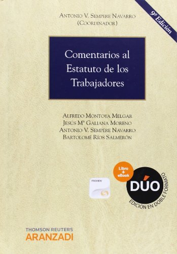 9788490590119: COMENTARIOS AL ESTATUTO DE LOS TRABAJADORES