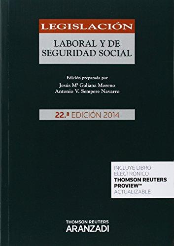 9788490593967: Legislación Laboral y de Seguridad Social