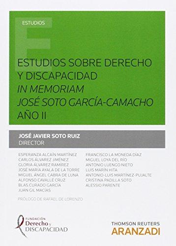 Estudios sobre derecho y discapacidad. In memoriam José Soto García-Camacho : A&...